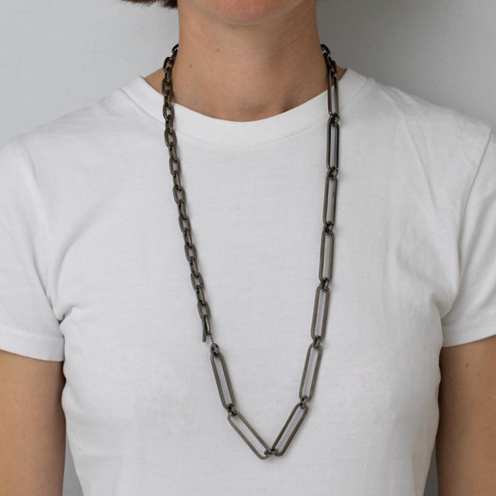 E 158 - Quarter Chain Necklace