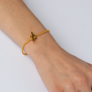 Bracelet - E 467 - gold-plated Sterling silver