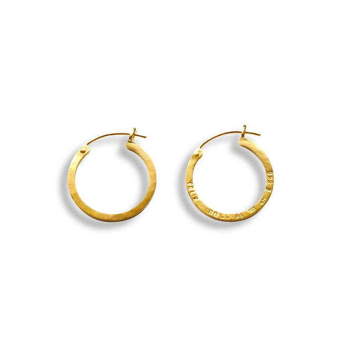 E 648 - Medium Hoop Earring