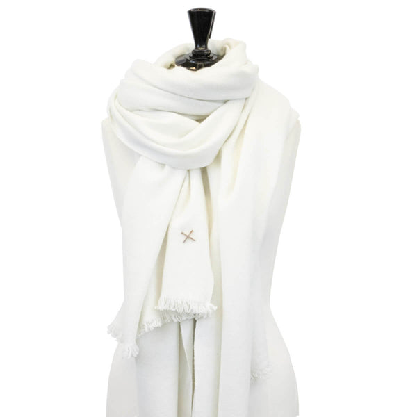 Edition 1 - Cashmere Blanket - White B5