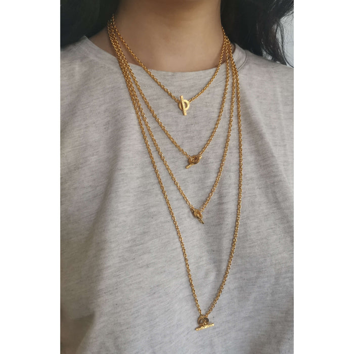 E 161 - Rope Chain Necklace