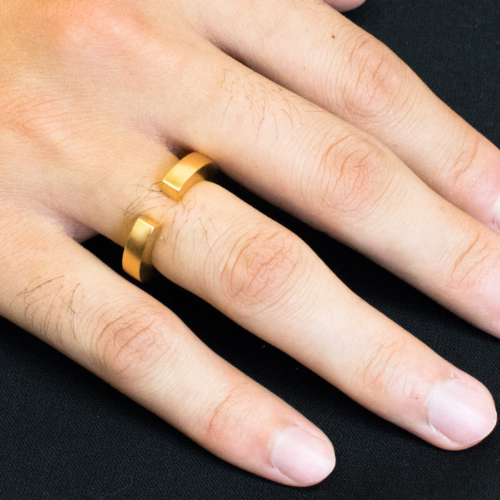 Ring - C 240 - gold-plated Sterling silver