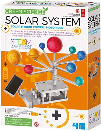 HYBRID-POWERED SOLAR SYSTEM PLANETARIUM