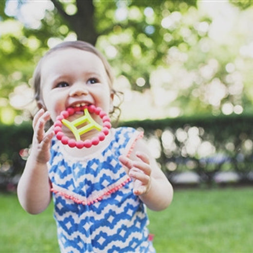 Chew Beads Zodies 100% Silicone Astrological Teethers