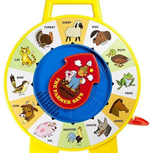 Fisher Price See and Say Toy