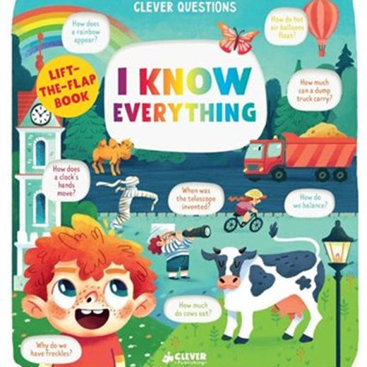 I Know Everything: Lift the Flap Book