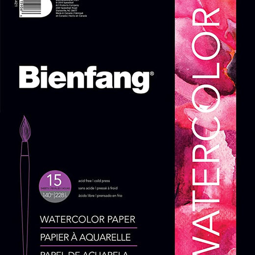 Speedball Art Products Bienfang watercolour paper