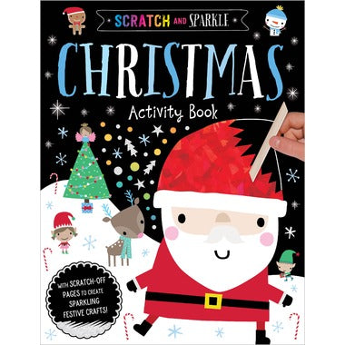 Scratch and Sparkle Activity Book