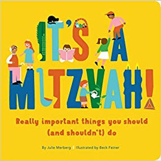 It's A Mitzvah! Book by: Julie Merberg