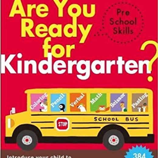 Kumon Workbook: Are you Ready for Kindergarten?