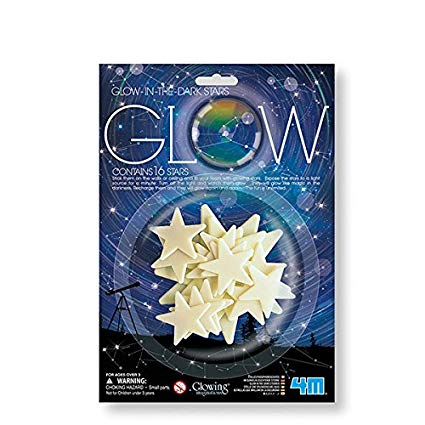 Glowing Imaginations: Glow in the Dark Stars
