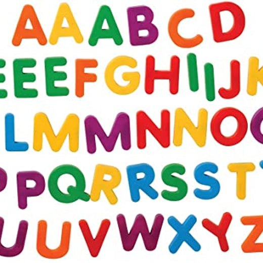 Upper Case Jumbo Magnetic Letters for Fridge