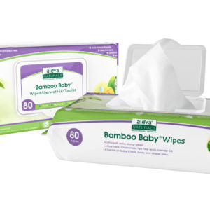 Aleva Bamboo Wipes 80