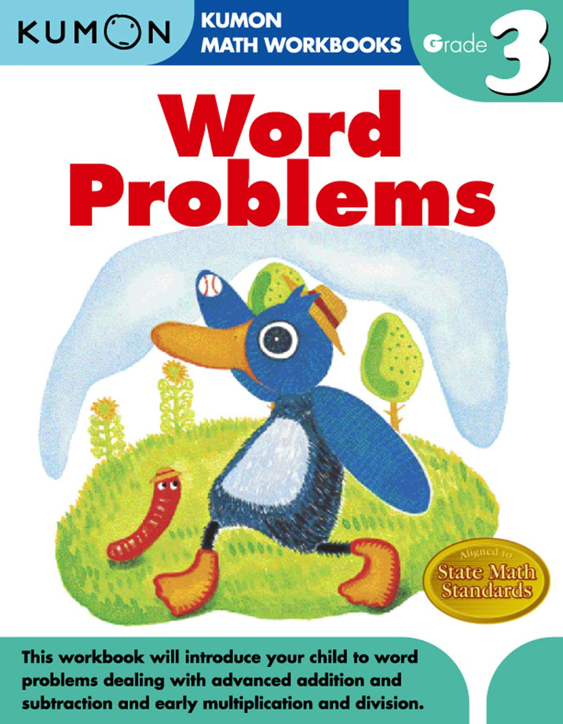 Kumon Workbook: Word Problems (Grade 3)