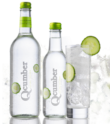 Qcumber sparkling cucumber drink