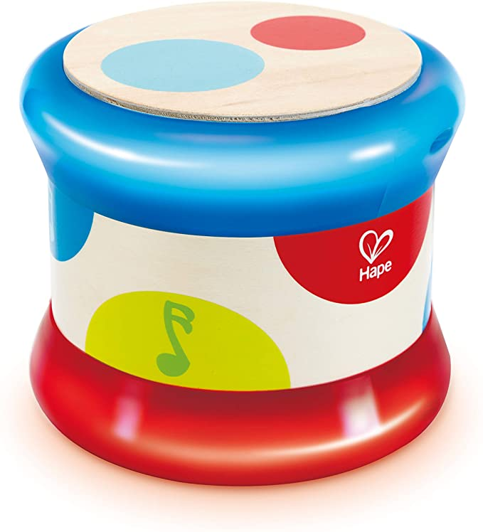 Hape Baby Colorful Rolling Drum Musical