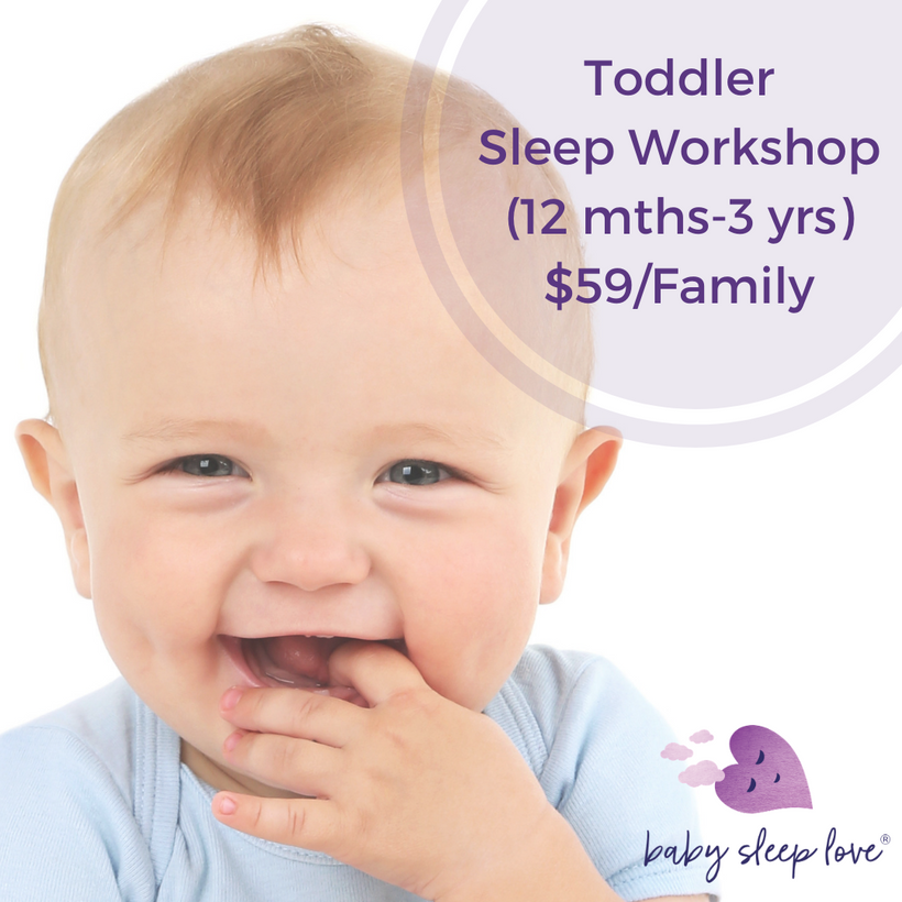 Sleep Workshop for Toddlers (1-3 years old)