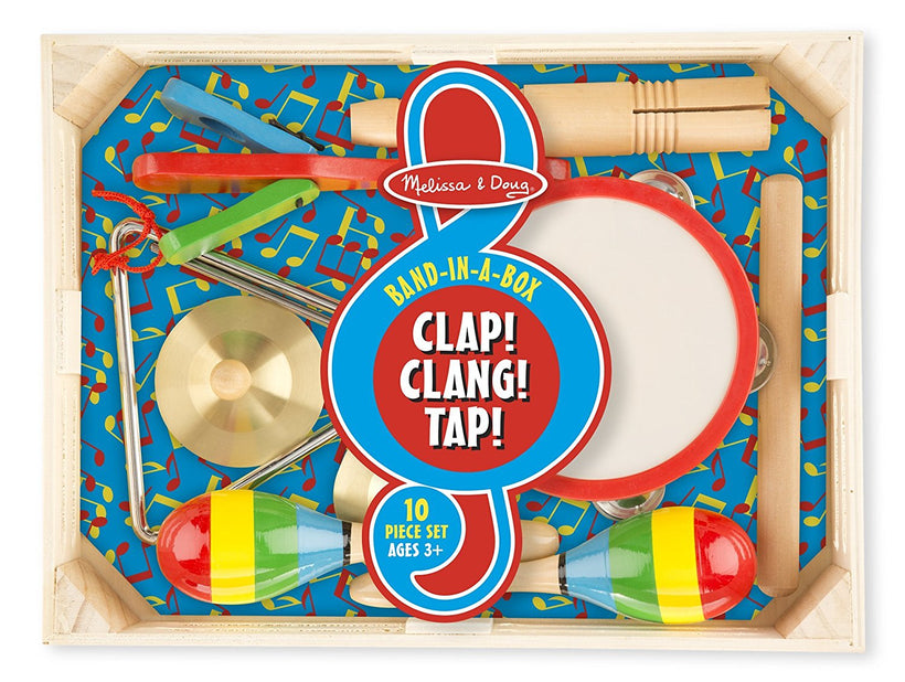 Melissa and Doug Band in a Box: Clap, Clang, and Tap
