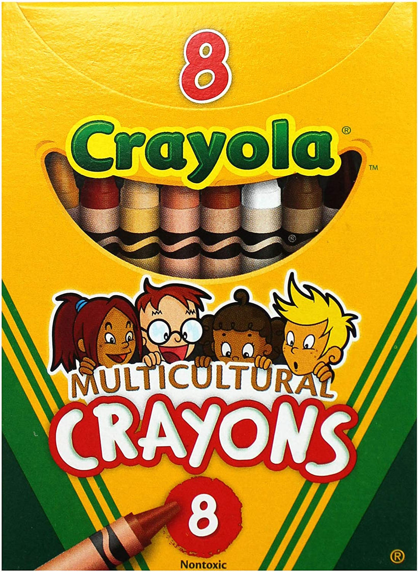 Crayola Multicultural Crayons 8 Pack