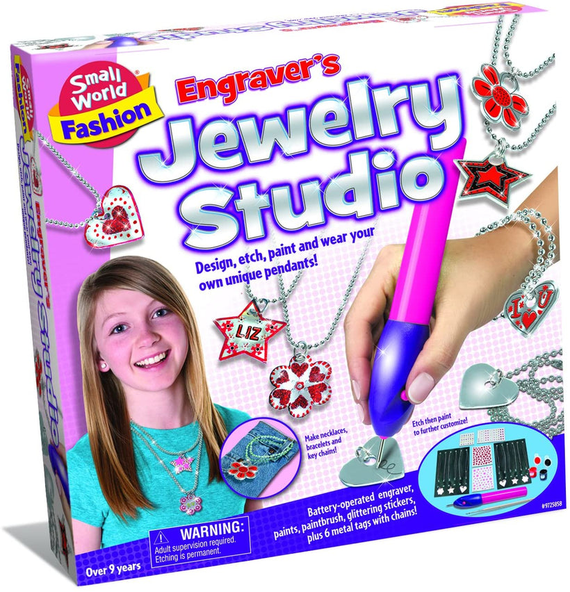 Small World Toys Engraver's Jewellery Studio