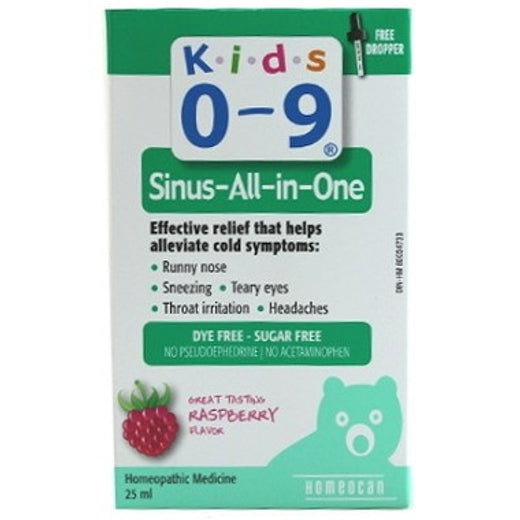 Homeocan Kids 0-9 Sinus All in 1