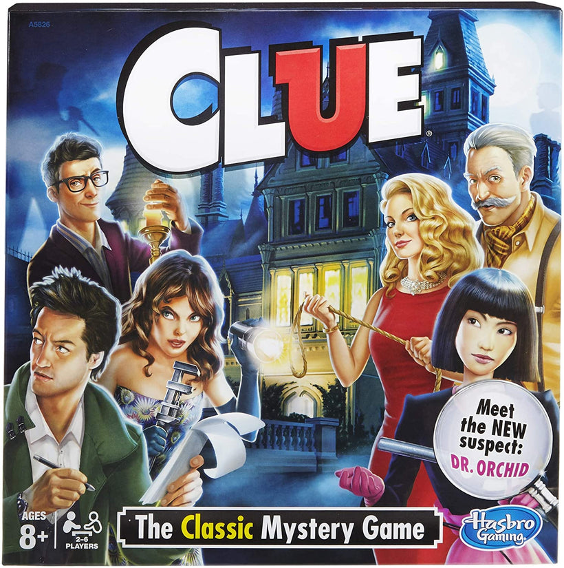 Clue The Board Game 8 +