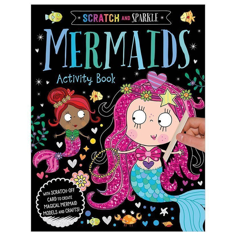 Mermaids Activity Book Scratch and Sparkle