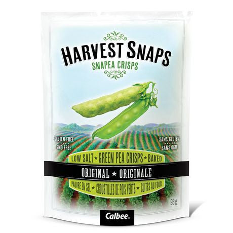 Harvest Snaps Snapea Crisps small 21 g bag