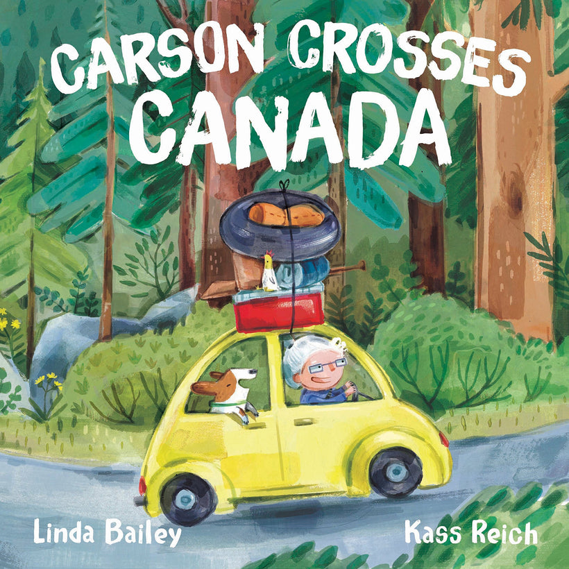 Carson Crosses Canada by: Kass Reich