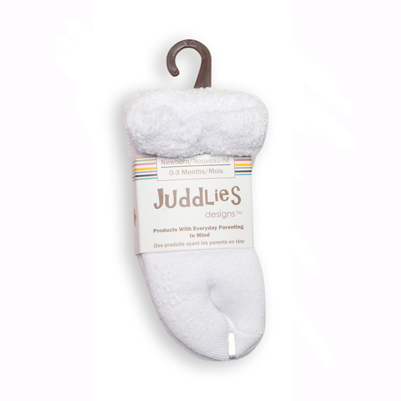 Juddlies Designs 0-3 months Baby Socks