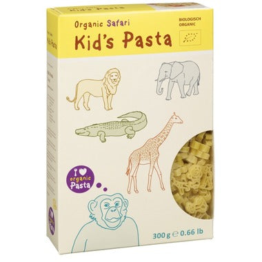 Abg-Org Organic Kids Pasta Farm, Safari or Dinosaur Shaped.