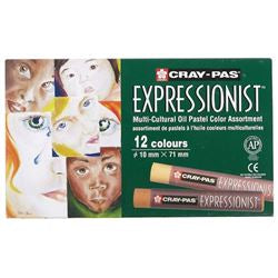 CRAY-PAS Expressionist Multi-Cultural Oil Pastels