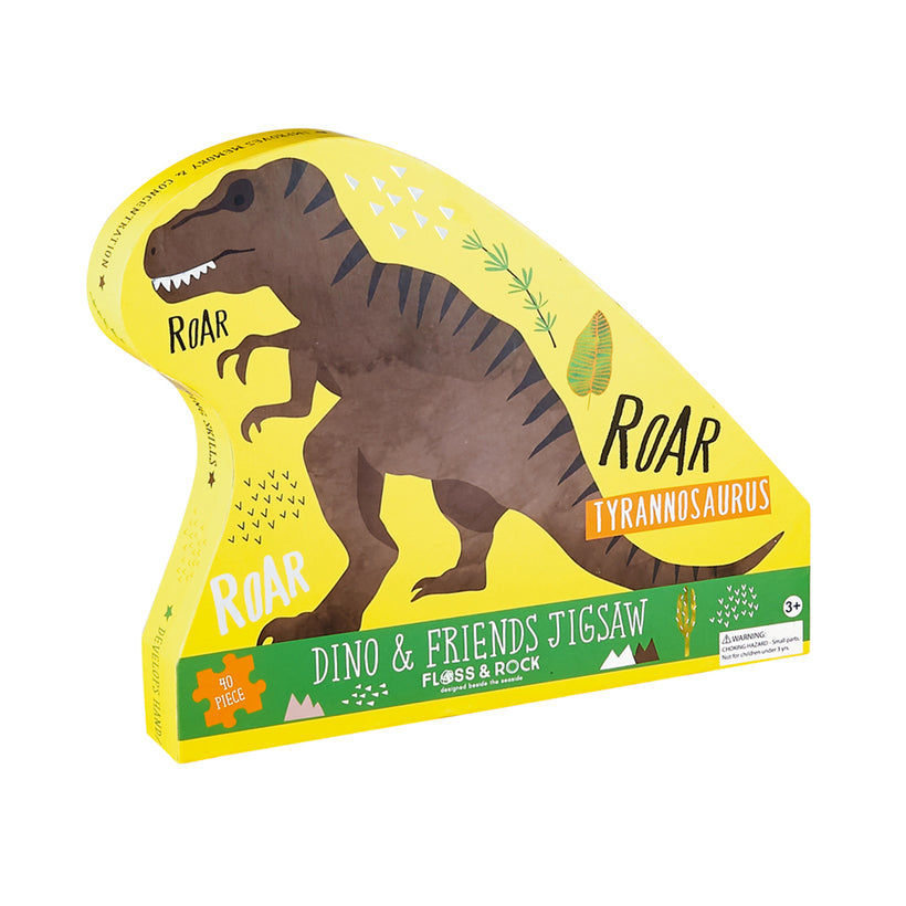 Floss and Rock 40 Piece Dinosaur Puzzle