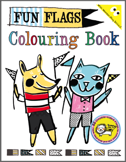 Draw me a Lion Fun Flags Colouring Book
