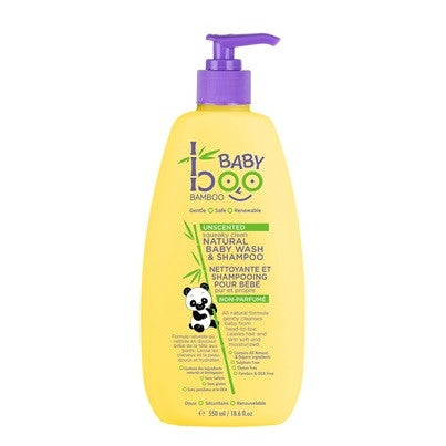 Unscented Baby Boo Bamboo all Natural Baby Wash & Shampoo