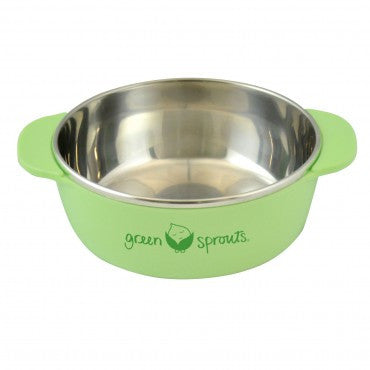 Green Sprouts Stainless Steel Bowl