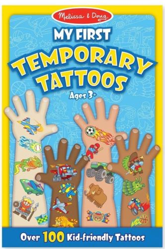 Melissa and Doug My First temporary tattoos