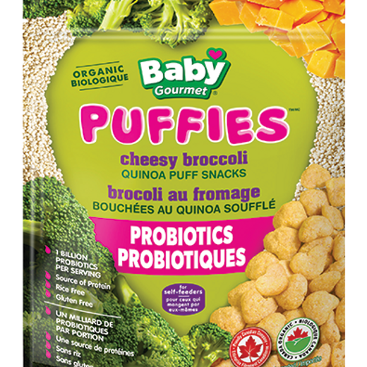 Baby Gourmet Puffies Cheesy Broccoli