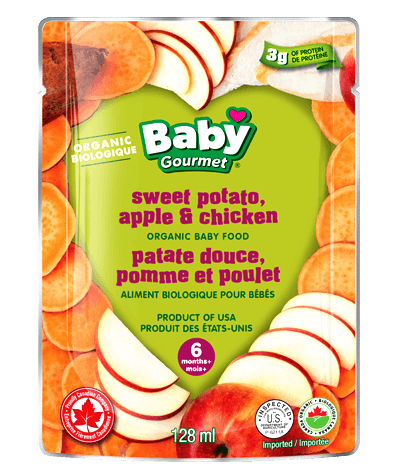Baby Gourmet DROP DOWN MENU FOR OPTIONS Pouch 128ml