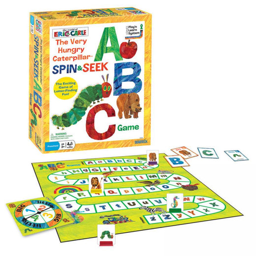 Eric Carle The Very Hungry Caterpillar Spin and Seek ABC Game
