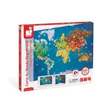 Janod Around the World Magnet Puzzle