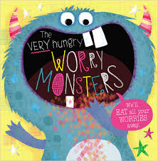 The Very Hungry Worry Monster Board Book