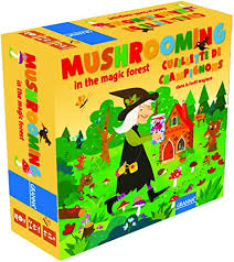 Granna Mushrooming in Magic Forest Board Game 4+