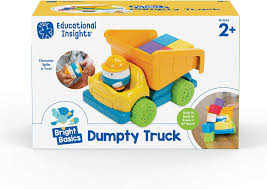 Educational Insights Bright Basics Dumpty Truck