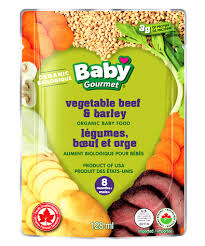 Baby Gourmet Pouch 128ml