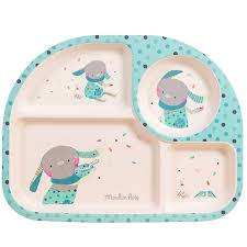 Moulin Roty Baby Tray Blue