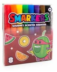 Scentos Smarkers (washable scented Markers) 8 pack