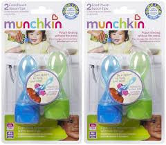 Munchkin Food Pouch Spoon Tips (2 pack)