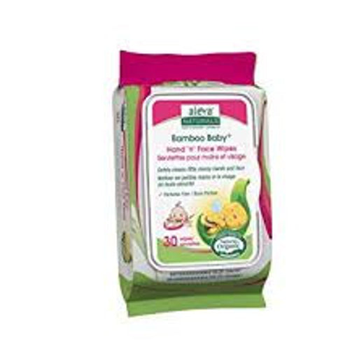 Aleva Naturals Bamboo Baby Hand and Face Wipes