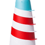 Ubbi Lighthouse Stacking Cups Bathtoy